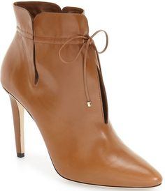 Jimmy Choo Murphy cutout leather ankle boots in canyon