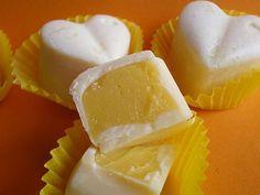 Orangen-Pralinen mit Joghurt