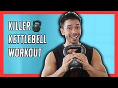 10 Minute Kettlebell Workout for an Efficient HIIT Total Body Workout // Mike Donavanik - YouTube