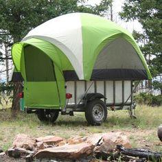 Let's Go Aero LittleGiant TreeHaus™ Utility & Tent Trailer