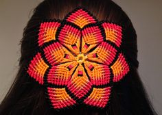 macrame - mandala flower video tutorial