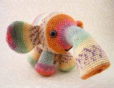 PDF of Tooterphants Amigurumi Pattern by lucyravenscar on Etsy