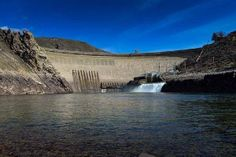 Arrowrock Dam, on the Boise River 42 miles downstream of Anderson Ranch Dam and 22 miles upstream from Boise, is a concrete thick-arch structure 350 feet high. When constructed in 1915, the dam was recorded as being the tallest concrete dam in the world. http://on.doi.gov/19DAtox