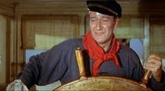 The Duke - definitely a Marine Engineer who takes a break to show the Mates how to steer.