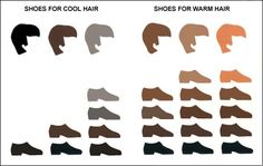 Coordinating shoe color with hair and skin tones. #mensfashion2013