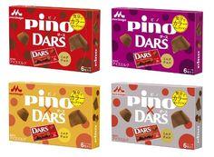 森永乳業/選べるパッケージ4種類「ピノ Darsミルクチョコ」