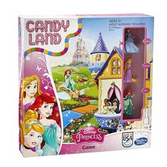 Take a dazzling journey through 8 magical lands in the Candy Land Disney Princess Edition game! You'll pick your favorite Disney Princess - Cinderella, Rapunzel Disney Games, Disney Toys, Disney Candy, Candyland Board Game, Disney Princess Cinderella, Disney Princesses, Game Sales, Toys Shop, Games For Girls