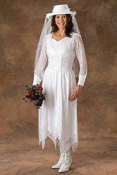 1000 images about women 39 s western wear on pinterest for Western cowgirl wedding dresses