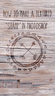 How to Make a Textured Stamp in Photoshop