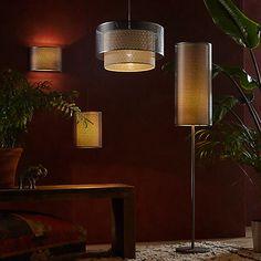 Buy John Lewis Meena Easy-to-Fit Pendant Light, Brushed Steel Online at johnlewis.com