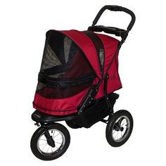 The red Pet Gear Jogger No-Zip Pet Stroller -- Insider's special review you can't miss. Read more  : Dog strollers