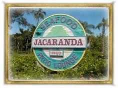 Yum. Jacaranda. Sanibel Island.  Great Jekel Wine!