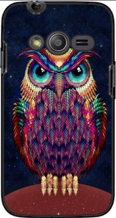 Case Owls in space for Samsung Galaxy Ace 4 G313