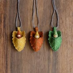 Baby Gnome Leaf Ornament