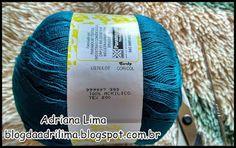 Adriana Lima: Blusa Flor de Outono em crochê