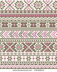 Find Nordic Seamless Knitted Pattern stock images in HD and millions of other royalty-free stock photos, illustrations and vectors in the Shutterstock collection. Knitting Charts, Lace Knitting, Knitting Stitches, Knit Crochet, Knit Lace, Fair Isles, Fair Isle Pattern, Fair Isle Knitting, Knit Patterns