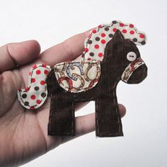 Horse Applique Horse Patch Horse by HollyCraftOriginals on Etsy (Craft Supplies & Tools, Sewing & Needlecraft Supplies, Appliques, pony applique, horse applique, cute horse, fabric, scrapbooking, embellishment, brown, 4h, sewing, hollycraft, country, made to order, patch)
