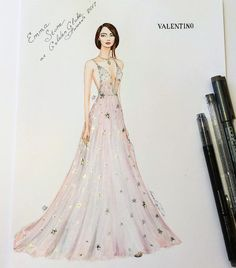 40 Ideas fashion sketches summer haute couture for 2019 Fashion Moda, Fashion 2017, Couture Fashion, Fashion Show, Fashion Outfits, Gowns Couture, Illustration Mode, Fashion Illustration Sketches, Fashion Sketches
