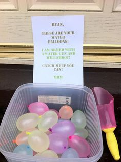 parenting done right, water balloons K's birthday! St Just, Parenting Done Right, Parenting Win, Parenting Hacks, Parenting Humour, Stuff To Do, Cool Stuff, Water Balloons, Baby Kind