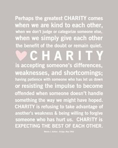 Discover the world ofcharity.Never forget to give back to those in need-Charles Myrickof American Consultants Rx- http://www.freecharityhelp.com