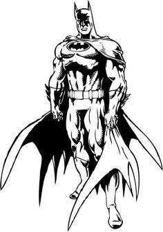 Batman 8 Ausmalbilder