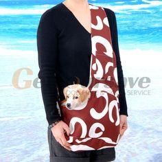 Outdoor Pet Dog Cat Puppy Strap Sling Single-Shoulder Bag Carrier Holder Tote