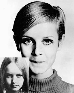 Twiggy Makeup and Haircut. How 16 year old Leslie Hornby became Twiggy. How she developed her makeup look, her famous crop and who really discovered her 1960s Makeup, Twiggy Makeup, Flapper Hair, Mod Girl, Raised Eyebrow, Brown Eyeliner, Her Hair, Fashion News, Makeup Looks