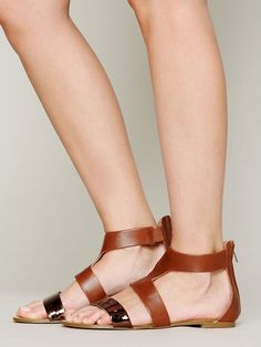 Jett Ankle Sandal.. Only at FREE PEOPLE.. love it!