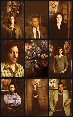 Grimm - love David Giuntoli and Sasha Roiz