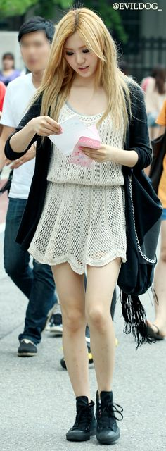 After School Lizzy on her way