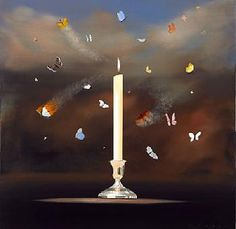 """""""Like Moths to a Flame"""" by Robert Deyber"""