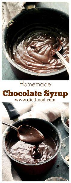 Chocolate Peanut Butter Ice Cream Syrup at Diethood | www.diethood.com | #recipe #icecream #peanutbutter #chocolate