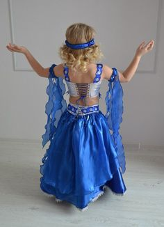 """Детские карнавальные костюмы """"Penelope""""'s photos Belly Dance Costumes, Girl Costumes, Frocks For Girls, Girls Dresses, Indian Classical Dance, Carnival Costumes, Children's Boutique, Halloween Party, Girly"""