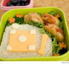 Parenting - Recipes - How to Make a Baseball Bento Lunch Box