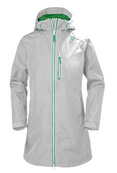 online shopping for Helly Hansen Women's Long Belfast Waterproof Rain Jacket Hood, Grey Fog, Large from top store. See new offer for Helly Hansen Women's Long Belfast Waterproof Rain Jacket Hood, Grey Fog, Large Raincoat Outfit, Green Raincoat, Nike Pullover, Raincoats For Women, Jackets For Women, Clothes For Women, Helly Hansen, Belfast, Waterproof Rain Jacket