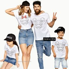 Discover matching tees by FAMILYSTA. There can be no better way of expressing your love for one another, than through fun and cute family t-shirt sets. Check our women's t-shirt SHINE and the matching options for couples and the whole family. Baby Boy Shirts, Sibling Shirts, Baby Boy Outfits, Cute Outfits, Family Vacation Shirts, Family Tees, Funny Baby Clothes, Matches Fashion, Dad To Be Shirts