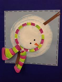 Color It Like you MEAN it!: Chalk: perspective snowmen!! kids art project #chalkart