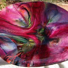 Fused Glass Tie-dye Bowls | AMusinGlass