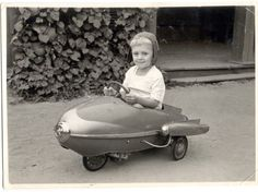 """""""My dad's favourite toy when he was a kid. Taken in 1965, somewhere in Russia. I, for one, am crazy jealous."""""""