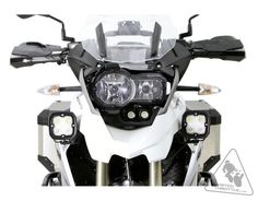 Denali Auxiliary Driving Light Mounting Bracket For BMW R1200GS LC
