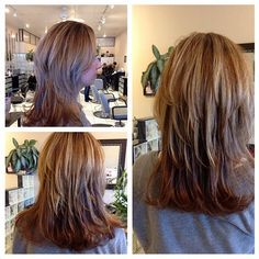 Partial #highlights and #blowout by our very own stylist Tina! #hair #cbdsalon #waynenjsalon