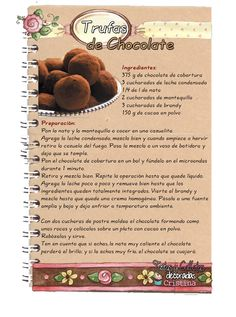 Tartas, Galletas Decoradas y Cupcakes: Trufas de Chocolate