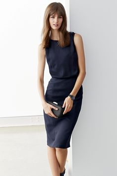 Buy Navy Dress from the Next UK online shop