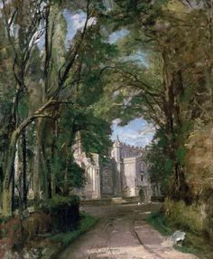 [Constable - East Bergholt Church]