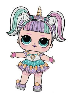 Welcome to the home of LOL Surprise where babies run everything. Meet your favorite LOL characters, take quizzes, watch videos, check out photos, and more! Lol Dolls, Cute Dolls, Lol Doll Cake, Lion King Pictures, Hi Gorgeous, Doll Drawing, Spiderman, Unicorn Doll, Cute Easy Drawings
