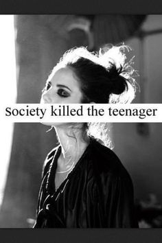 teenagers in society