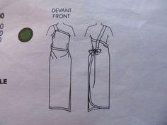 Vintage-Vogue-Pattern-Issey-Miyake-1575-Individualist-Designer-Original-S
