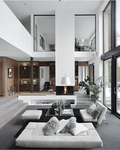 25 best living room decoration for modern house interior design 4 Modern House Design, Modern Interior Design, Interior Design Inspiration, Interior Architecture, Design Ideas, Modern Decor, Interior Ideas, Design Trends, Modern Interiors