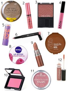 Ashley Brooke: Best Makeup Products Under $5. FANTASTIC post, and I (Katii) agree with every review of the items I've tried so far.