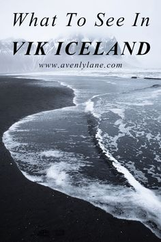 Iceland! Check out the amazing black sand beach, caves along the shore, Icelandic churches and so much more! www.avenlylanetravel.com